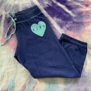 PINK Victoria's Secret 3/4 Lounge Sweatpants